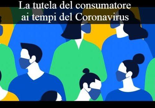 coronavirus consumatori